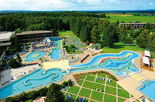 Die Johannesbad Therme in Bad Füssing – Deutschlands größte Therme